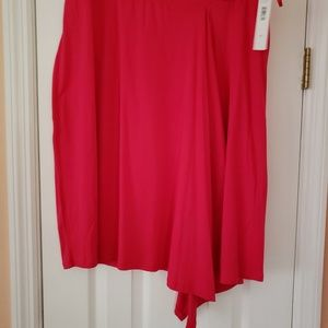 NEW WITH TAGS DKNY PINK SKIRT SIZE XL